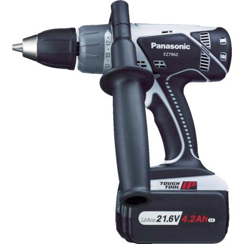 Panasonic 21.6V振動ドリル&ドライバー(1台) EZ7960LS1SB 4917065
