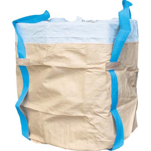 アサヒ コンテナバッグ丸型二重バッグ青ベルト アスベス廃棄用1000kgタイプ 190615 8553259