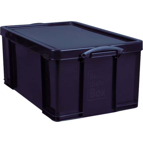 RUP コンテナ Really Useful Box 64L ブラック 64BLK 8562757