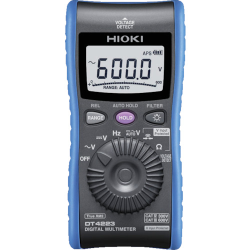 HIOKI デジタルマルチメータ DT4223 8358277