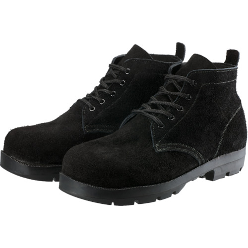 シモン 耐熱安全編上靴HI22黒床耐熱 26.0cm HI22BKT260 8554808