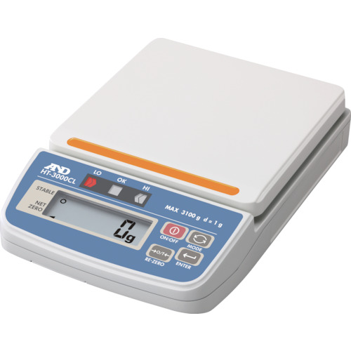 A&D コンパレータライトつきデジタルはかり HT3000CL HT3000CL 8558498