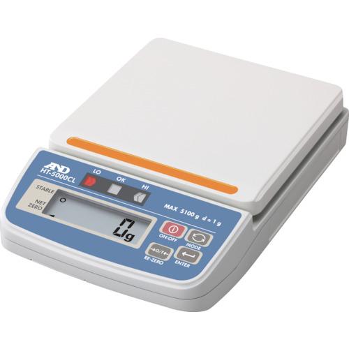 A&D コンパレータライトつきデジタルはかり HT5000CL HT5000CL 8558500