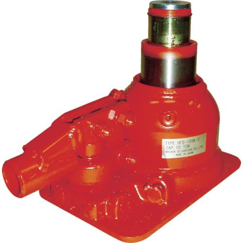 マサダ 二段式油圧ジャッキ(超低床式) HFD10SK2 8562325