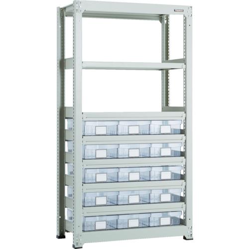 TRUSCO M3型中量棚 H1800 樹脂透明引出付 大×15 M36358D15 8563304