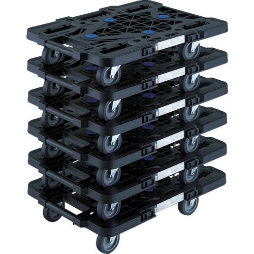 TRUSCO ルートバン まとめ買い いつでも送料無料 MPK-500J-BK 6台セット MPK500JBKM6 8564236 運送 軽量 工場 台車 物流 平台車 送料無料 激安 お買い得 キ゛フト