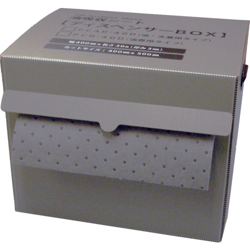 JOHNAN 油吸収材アブラトール ディスペンサーボックス入り (1個入) PCAR40D 8206869