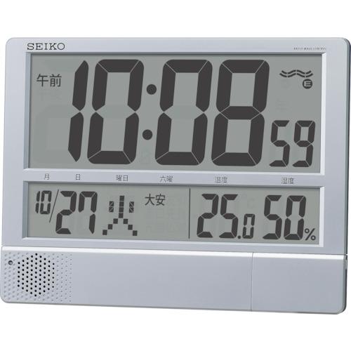 SEIKO プログラムチャイム付き電波時計 SQ434S 8202561