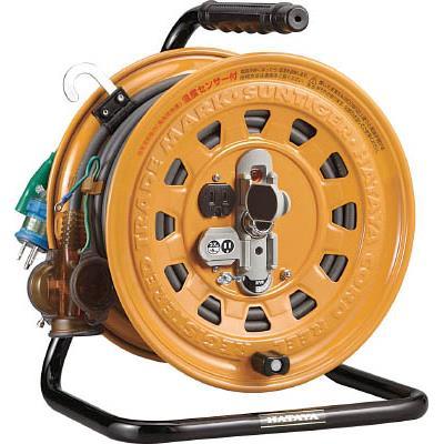 ハタヤ 逆配電型コードリール マルチテモートリール単相100Vアース付27+6m(1台) TGM130K 1061844
