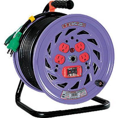 日動 電工ドラム 標準型100Vドラム アース過負荷漏電しゃ断器付 30m(1台) NFEK34 1255681
