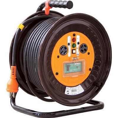 日動 電工ドラム 三相200Vドラム アース漏電しゃ断器付 30m(1台) NDEB33020A 1255835