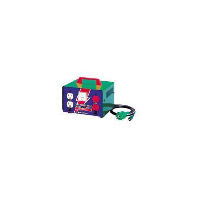 日動 変圧器 昇圧器ハイパワー 2KVA アース付タイプ(1台) ME20 1257609