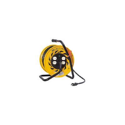 日動 電工ドラム マジックリール 100V 2芯 30m(1台) Z304D 1645102