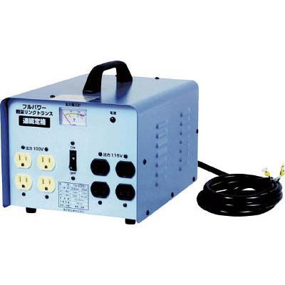 日動 変圧器 降圧専用トラパック 5KVA(1台) TB500D 2742225