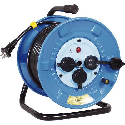 日動 電工ドラム 防雨防塵型100Vドラム 2芯 30m(1台) NPW303 2902044