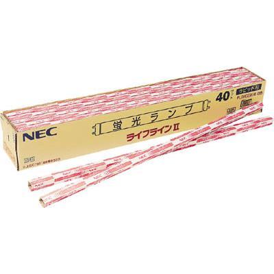 【後払い不可】NEC 一般蛍光ランプ(10本) FLR110HDA100 2951908