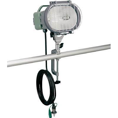 ハタヤ 瞬時再点灯型150Wメタルハライドライト5m電線付バイス取付タイプ(1台) MLV105KH 3608671