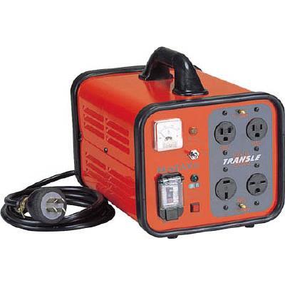 ハタヤ トランスル 昇降圧兼用型 単相200V・100V 3.0kVA(1台) HLV03A 3703410