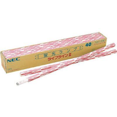 【後払い不可】NEC 蛍光ランプ直管形(グロースタータ形)(25本) FL32SW25 4679741