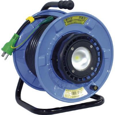 日動 防雨・防塵型LEDライトリール(1台) SDWEK2210W 4866258