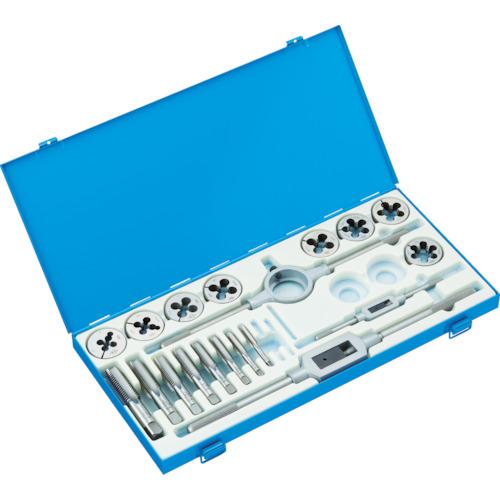 TRUSCO タップダイスセット SKS 10mm~24mm 並目 T50D1024N 8549499