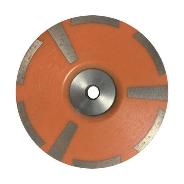 TRUSCO 仕上げ用 ダイヤモンド樹脂型カップホイール 100mm×M10 TDC4S 8366951