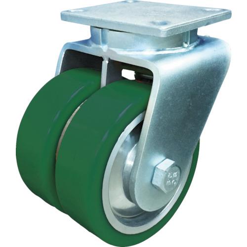 SAMSONG 超高荷重 デュアルキャスター 自在 耐熱ウレタン車 200mm TP768001PALDUAL 8358143