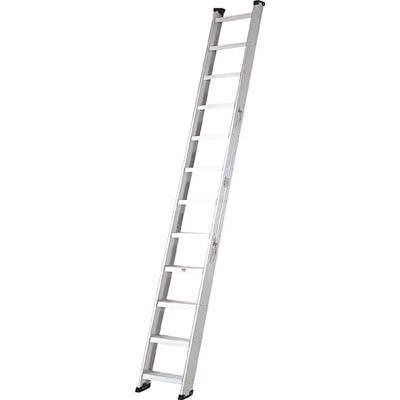 ピカ 両面使用型階段はしごSWJ型 幅広踏ざん 3.7m(1台) SWJ37 2472937