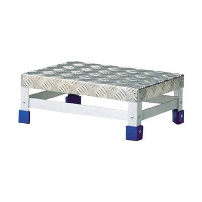 TRUSCO ステップ アルミ製・縞板タイプ 600X400XH150(1台) TFS1564 3418022