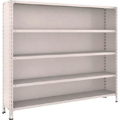 【代引不可】TRUSCO 軽量棚背板・側板付 W1800XD300XH1500 5段(1台) 56V25 5022894