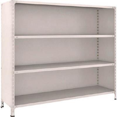 TRUSCO 軽量棚背板・側板付 W1800XD450XH1500 4段(1台) 56X24 5022908