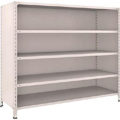 【代引不可】TRUSCO 軽量棚背板・側板付 W1800XD600XH1500 5段(1台) 56W25 5022932