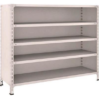 【代引不可】TRUSCO 軽量棚背板・側板付 W1500XD450XH1200 5段(1台) 45X25 5039096