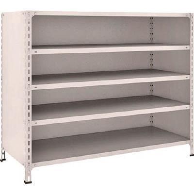 【代引不可】TRUSCO 軽量棚背板・側板付 W1500XD600XH1200 5段(1台) 45W25 5039118