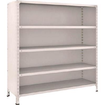 TRUSCO 軽量棚背板・側板付 W1500XD450XH1500 5段(1台) 55X25 5039215