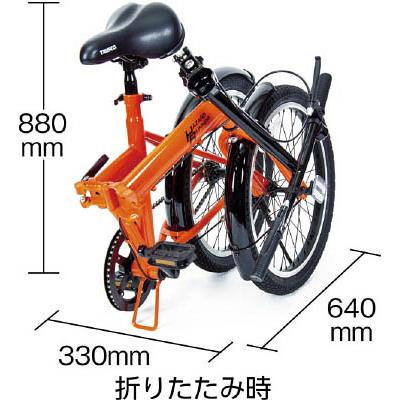 "TRUSCO 構内・災害時用ノーパンク自転車 ""ハザードランナー"" 20インチ(1台) THR5520 4892836"