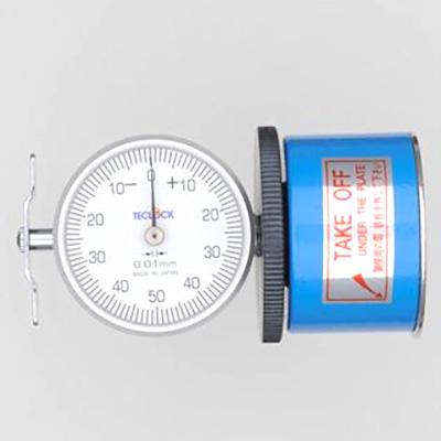 深さ 日本製 長さ 誤差 変位 測定 テクロック:クランクデフレクションゲ-ジ 正規品 TM-104YS 4560120874432 計測