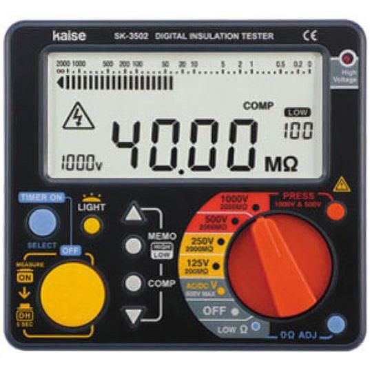 カイセ:デジタル絶縁抵抗計 SK-3500