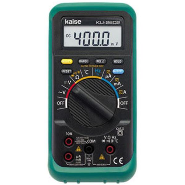 カイセ:デジタルマルチメータ KU-2602
