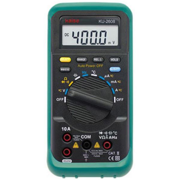 カイセ:デジタルマルチメータ KU-2608