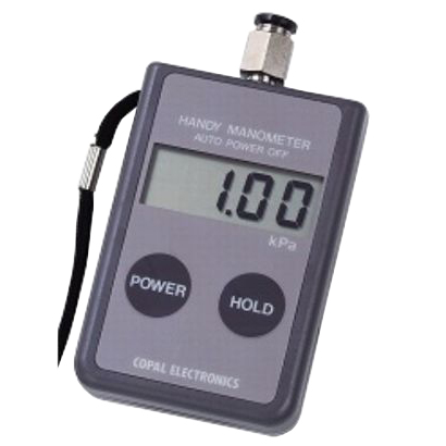 日本電産コパル:ハンディマノメータ(0~10kPa) PG-100-101GP
