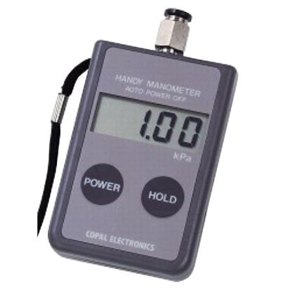 日本電産コパル:ハンディマノメータ(0~100kPa・絶対圧) PG-100-102AP