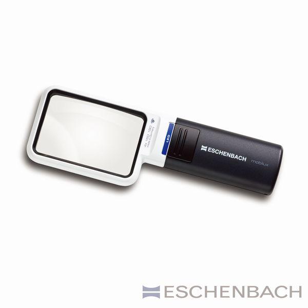 エッシェンバッハ:LEDワイドライトルーペ 4x 1511-4