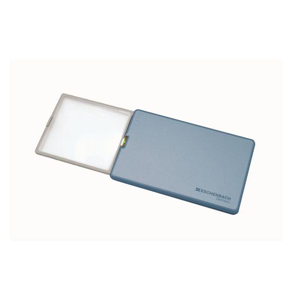 ルーペ 老眼 ESCHENBACH 眼鏡 レンズ 4048347108108 1521-22 AL完売しました 4x メタリックブルー 休み エッシェンバッハ:easy POCKET