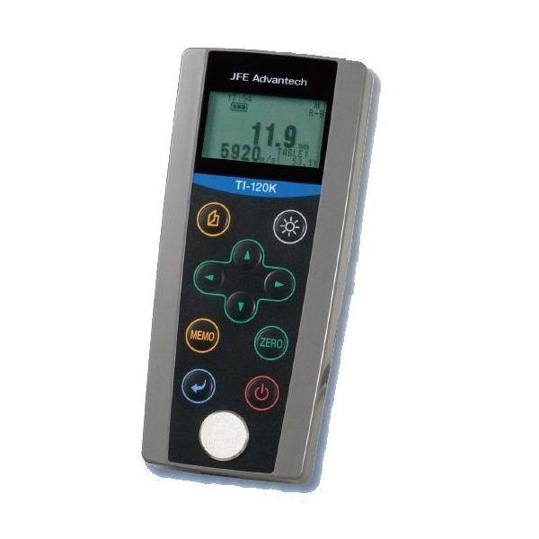 JFEアドバンテック:超音波厚さ計/メモリ機能付 TI-120K