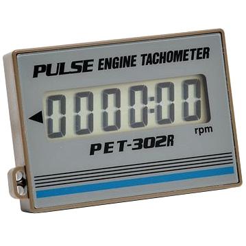 追浜工業:エンジンタコメータ PET-302R