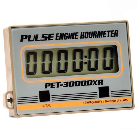 追浜工業:エンジンアワーメーター PET-3000DXR
