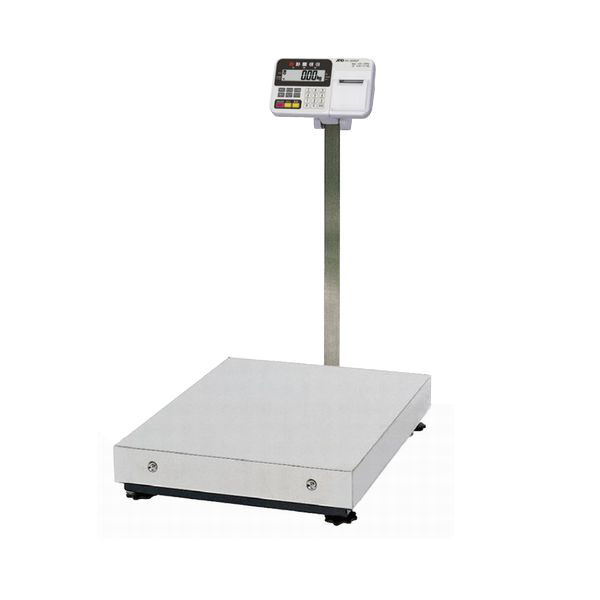 A&D:検定付大型台はかり(内蔵プリンタ付) HV-600KCP-K