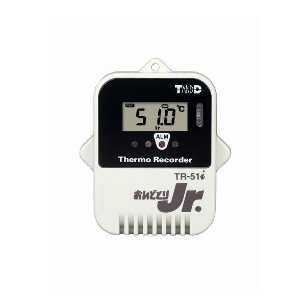 T&D:おんどとり小型防水温度データロガー赤外線通信タイプ TR-51i