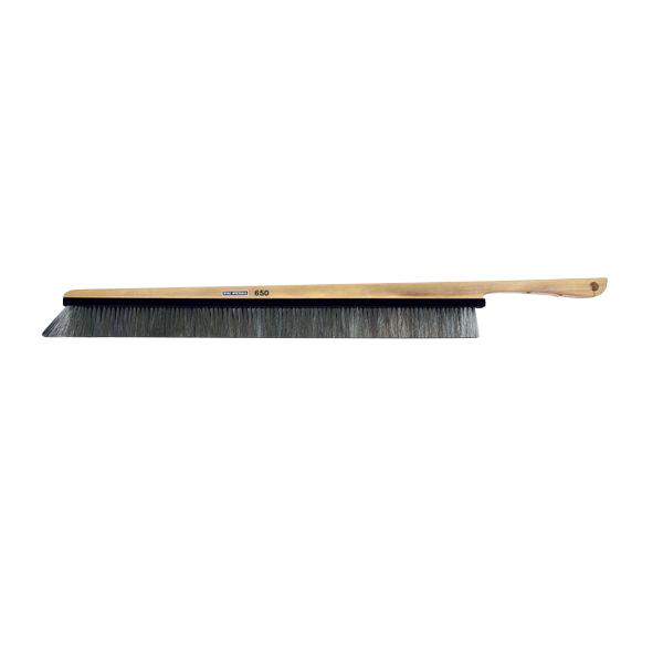 スタック・アンド・オプティーク:大版用ハンド木柄ゴールド除電ブラシ STAC650